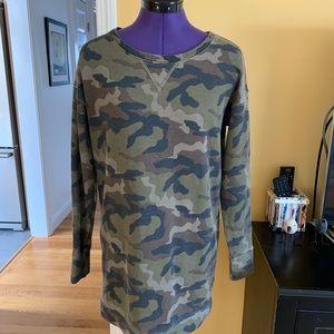 Sweatshirt Camo Dress